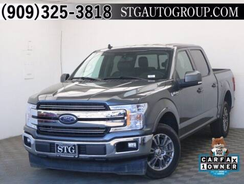 2020 Ford F-150 for sale at STG Auto Group in Montclair CA