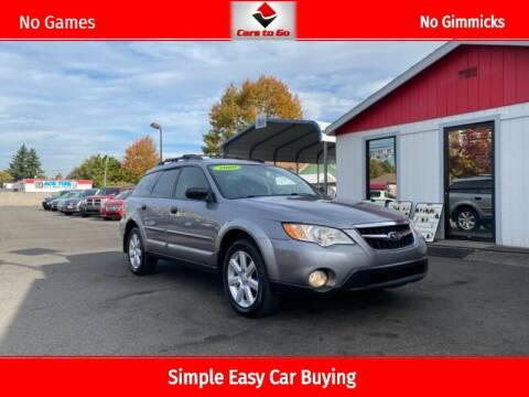2009 Subaru Outback for sale at Cars To Go in Portland OR