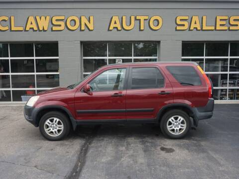 2004 Honda CR-V for sale at Clawson Auto Sales in Clawson MI