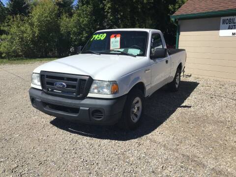 2011 Ford Ranger for sale at Mobile-tronics Auto Sales in Kenockee MI
