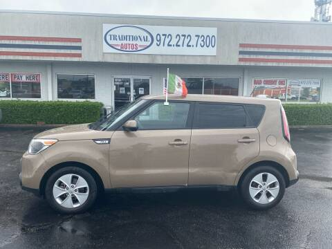 2016 Kia Soul for sale at Traditional Autos in Dallas TX