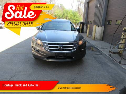 2012 Honda Crosstour for sale at Heritage Truck and Auto Inc. in Londonderry NH