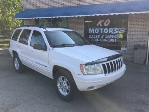 2001 Jeep Grand Cherokee for sale at K O Motors in Akron OH