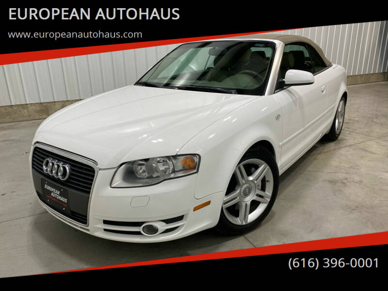 2008 Audi A4 for sale at EUROPEAN AUTOHAUS in Holland MI