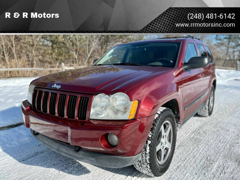2007 Jeep Grand Cherokee for sale at R & R Motors in Waterford MI