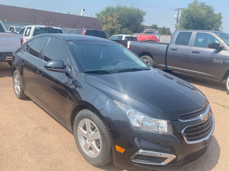 2015 Chevrolet Cruze for sale at Street Smart Auto Brokers in Colorado Springs CO