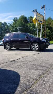 2008 GMC Acadia for sale at Lewis Auto Sales in Lisbon ME