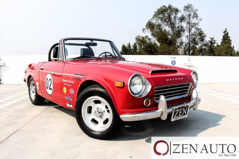 1969 Datsun 1600 for sale at Zen Auto Sales in Sacramento CA