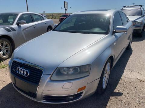2005 Audi A6 for sale at PYRAMID MOTORS - Pueblo Lot in Pueblo CO