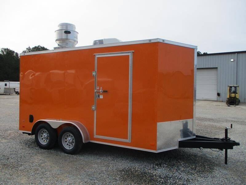 2021 Covered Wagon Trailers Gold Series 7x14 for sale at Vehicle Network - HGR'S Truck and Trailer in Hope Mill NC