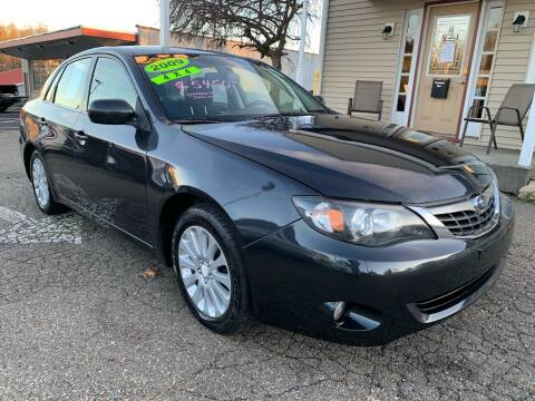 2009 Subaru Impreza for sale at G & G Auto Sales in Steubenville OH