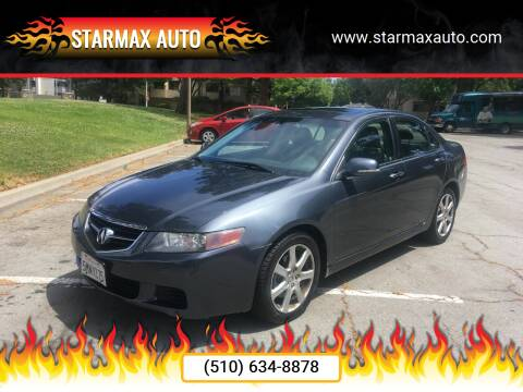 2005 Acura TSX for sale at StarMax Auto in Fremont CA