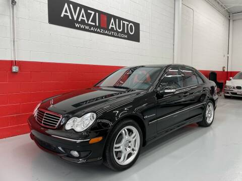2004 Mercedes-Benz C-Class for sale at AVAZI AUTO GROUP LLC in Gaithersburg MD
