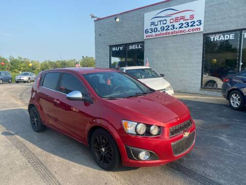 2012 Chevrolet Sonic for sale at Auto Deals in Roselle IL