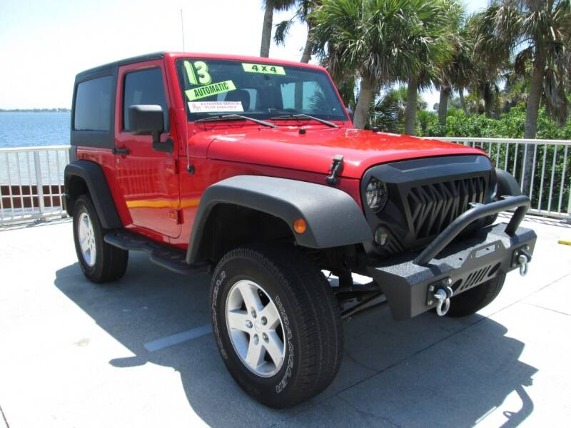 2013 Jeep Wrangler for sale at Best Deal Auto Sales in Melbourne FL