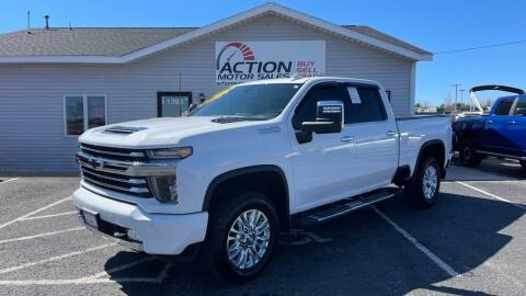 2020 Chevrolet Silverado 2500HD for sale at Action Motor Sales in Gaylord MI