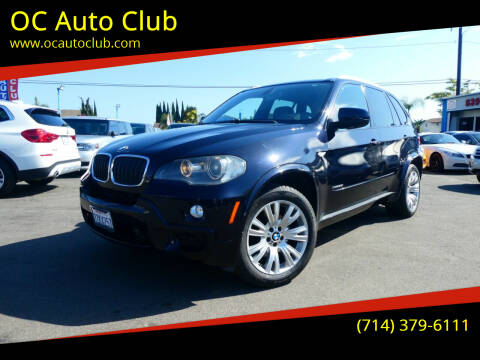 2010 BMW X5 for sale at OC Auto Club in Midway City CA