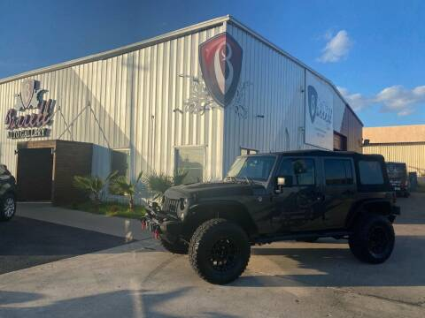 2017 Jeep Wrangler Unlimited for sale at Barrett Auto Gallery in San Juan TX