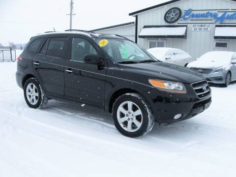 2007 Hyundai Santa Fe for sale at Country Auto in Huntsville OH