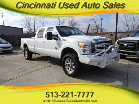 2011 Ford F-350 Super Duty for sale at Cincinnati Used Auto Sales in Cincinnati OH