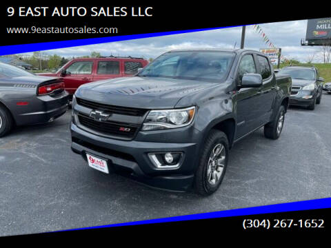2016 Chevrolet Colorado for sale at 9 EAST AUTO SALES LLC in Martinsburg WV
