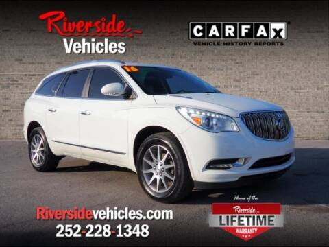 2016 Buick Enclave for sale at Riverside Mitsubishi(New Bern Auto Mart) in New Bern NC