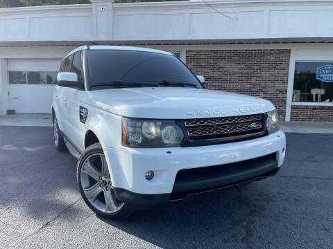 2012 Land Rover Range Rover Sport for sale at North Georgia Auto Brokers in Snellville GA