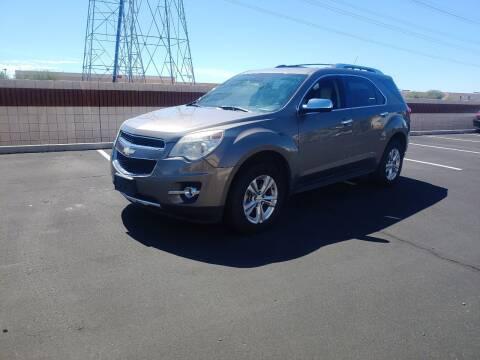 2012 Chevrolet Equinox for sale at Sooner Automotive Sales & Service LLC in Peoria AZ
