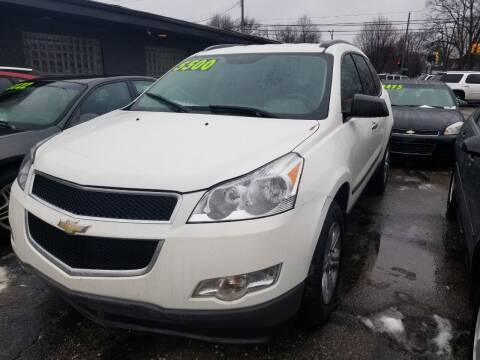 2012 Chevrolet Traverse for sale at D & D All American Auto Sales in Mt Clemens MI