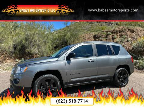 2012 Jeep Compass for sale at Baba's Motorsports, LLC in Phoenix AZ