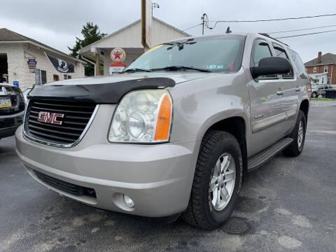 2007 GMC Yukon for sale at Waltz Sales LLC in Gap PA