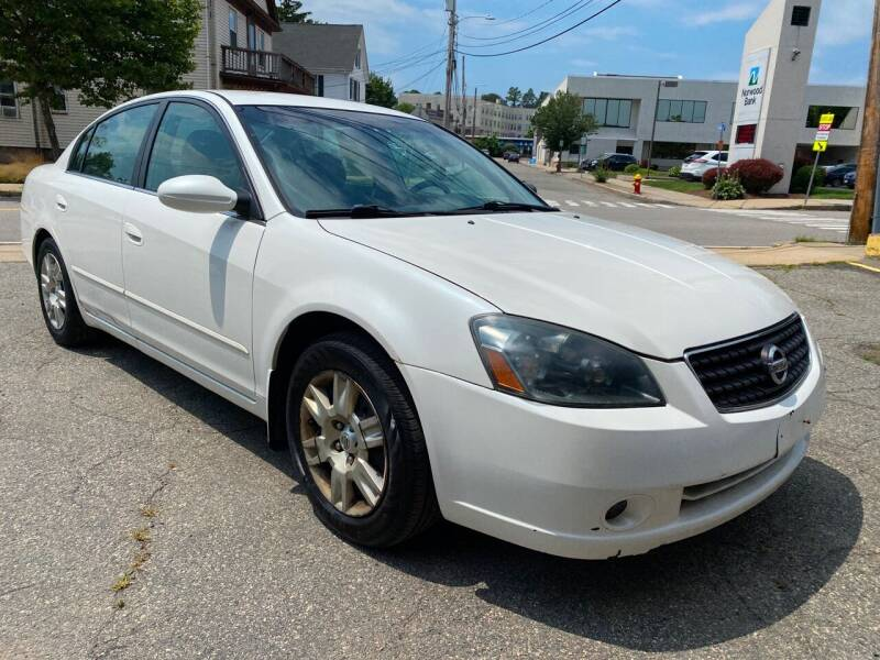 2006 Nissan Altima for sale at Auto Sales on Broadway in Norwood MA
