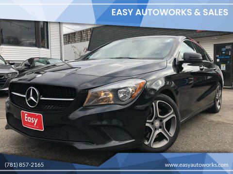 2014 Mercedes-Benz CLA for sale at Easy Autoworks & Sales in Whitman MA