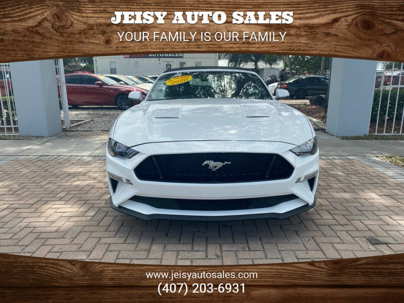 2020 Ford Mustang for sale at JEISY AUTO SALES in Orlando FL