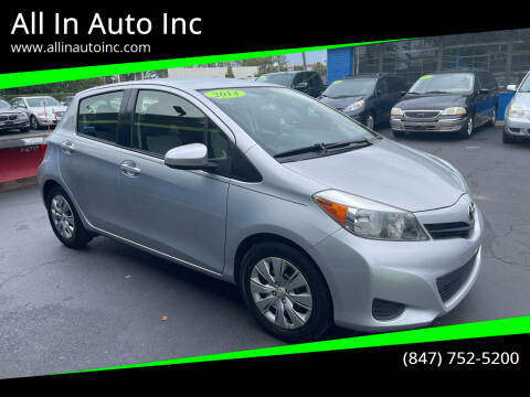 2014 Toyota Yaris for sale at All In Auto Inc in Palatine IL