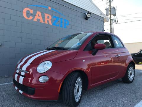 2012 FIAT 500 for sale at CarZip in Indianapolis IN