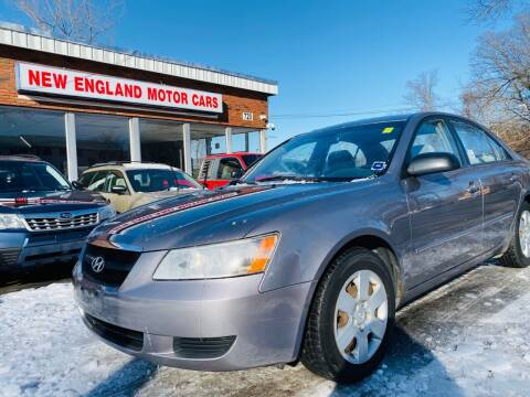 2006 Hyundai Sonata for sale at New England Motor Cars in Springfield MA