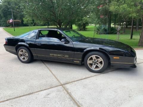 1987 Chevrolet Camaro for sale at Classic Car Deals in Cadillac MI