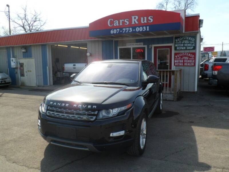 2014 Land Rover Range Rover Evoque for sale at Cars R Us in Binghamton NY