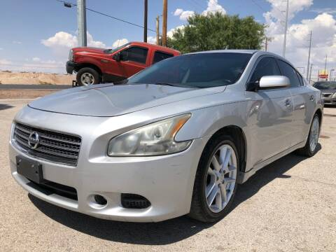 2011 Nissan Maxima for sale at Eastside Auto Sales in El Paso TX
