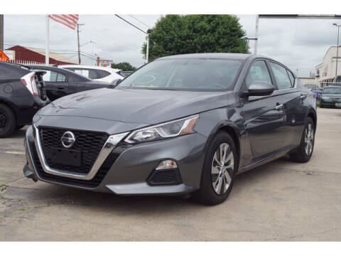 2020 Nissan Altima for sale at Credit Connection Sales in Fort Worth TX