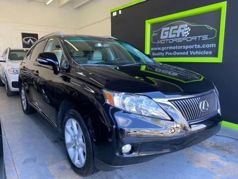2011 Lexus RX 350 for sale at GCR MOTORSPORTS in Hollywood FL