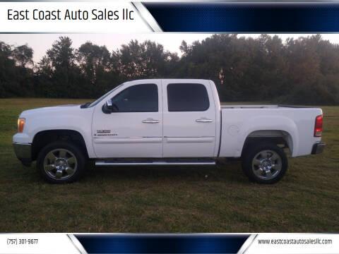 2009 GMC Sierra 1500 for sale at East Coast Auto Sales llc in Virginia Beach VA