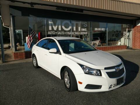2014 Chevrolet Cruze for sale at Mott's Inc Auto in Live Oak FL