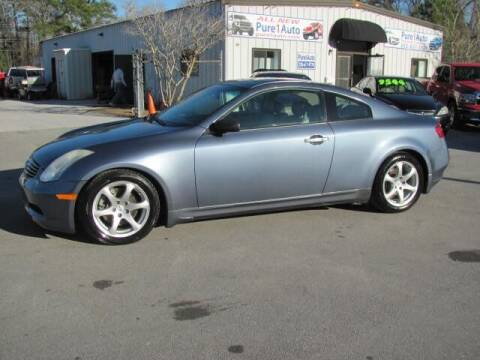2006 Infiniti G35 for sale at Pure 1 Auto in New Bern NC
