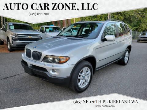 2006 BMW X5 for sale at Auto Car Zone, LLC in Kirkland WA