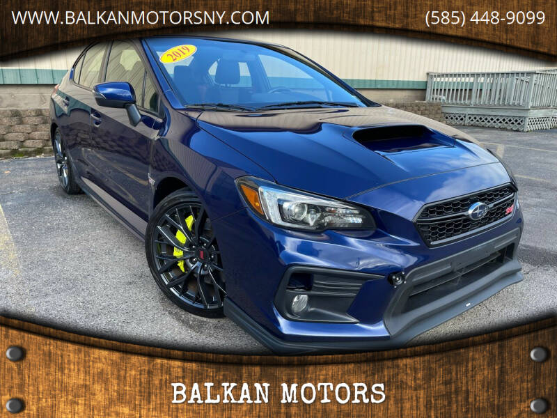 2019 Subaru WRX for sale at BALKAN MOTORS in East Rochester NY