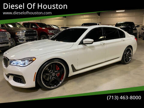 2019 BMW 7 Series for sale at Diesel Of Houston in Houston TX