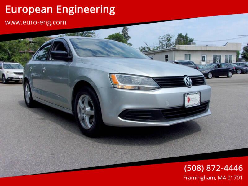 2014 Volkswagen Jetta for sale at European Engineering in Framingham MA