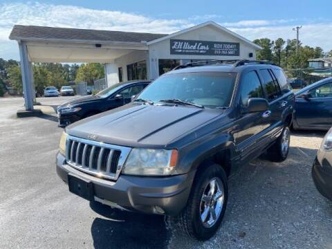 2004 Jeep Grand Cherokee for sale at L & H Used Cars of Wilmington in Wilmington NC
